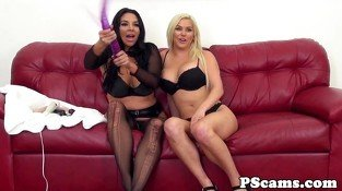Bigtitted liveshow with Spencer Scott toying