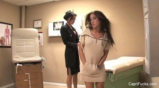 Sexy Capri pays a visit to Dr. Jessica Jaymes
