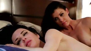 Two hot lesbians at the pleasure