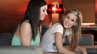 Awesome Teen Lesbians Shyla Jennings and Sasha Heart