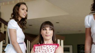 Adriana Chechik and Jade Nile Lesbian Step Sisters