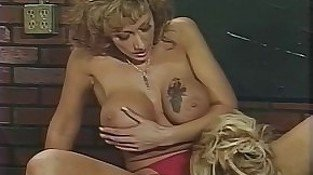 Fabulous pornstars Nikki Sinn and Kim Kitaine in amazing blowjob, big tits sex movie