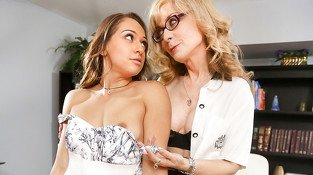 Nina Hartley in Lesbian Adventures - Strap On Specialists #10, Scene #01 - SweetHeartVideo