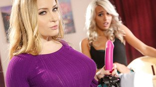 Aiden Starr in Lesbian Adventures - Strap On Specialists #10, Scene #02 - SweetHeartVideo
