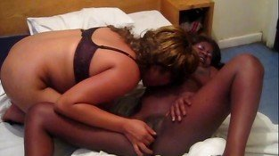 Sandra & Sidney Two African Lesbians With Passion - Homemade