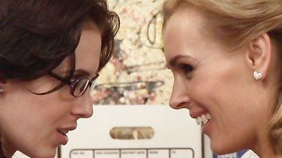 Tanya Tate & Aiden Ashley Scene 1 - Lesbian Office Seductions 5