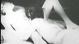 Lesbian vintage pussy licking